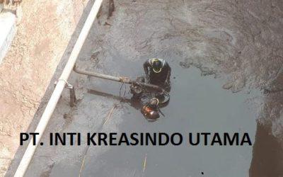 Pengurasan/Over Pumping Bak Aerasi Di PT.ECCO TANNERY INDONESIA
