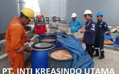 Cleaning Tanki T3 dan T5 (Ex. CPO) Di PT. Terminal Nilam Utara