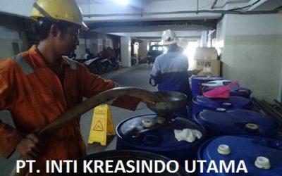 CLEANING TANKI SOLAR DI PT. SINARMAS LAND PLAZA