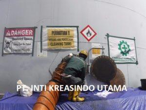 CLEANING TANKI T.07 DAN T.08 DI PT. AKR CORPORINDO TBK – TERMINAL AKR LAMPUNG